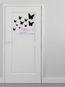 puerta mariposas