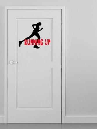 puerta running up corredora