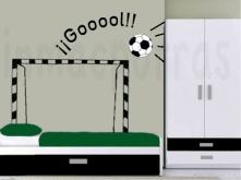 Márcate un gol en tu propio cuarto