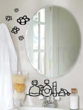 Dale vida a tu espejo con un vinilo sencillo