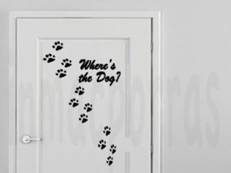 ¿Dónde está el perro?
