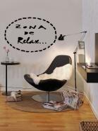 rincón de lectura sillón zona relax marca de agua
