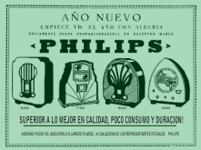 cartel antiguo radios. VERDE