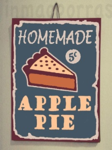 cartel apple pie.marca agua