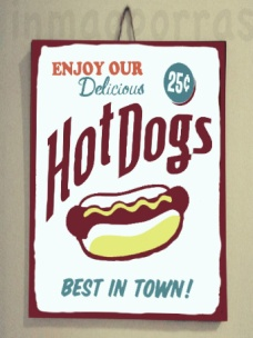 cartel hot dog.marca agua