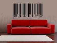 sofa rojo código barras numeros integrados marca agua
